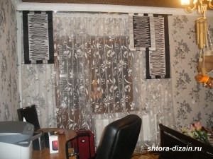 шторы для детской комнаты,штора-экран из тафты,тюль органза,
