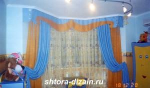шторы для детской комнаты,шторы из вуаль
