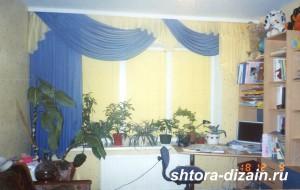 шторы для детской комнаты,ламбрекен из вуали