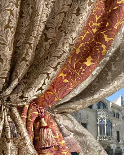 Ткани для штор традиционно делятся на