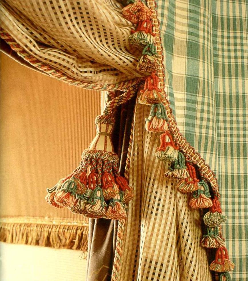 Декор бахромы