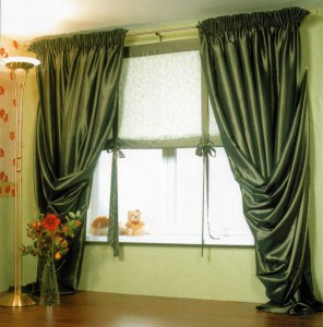 шторы из вельвета, ткань вельвет