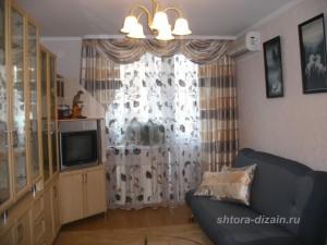 шторы для гостинной, холла, зала