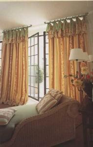 шторы из габардина, ткань габардин