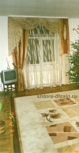 шторы в гостиной, холле, зале