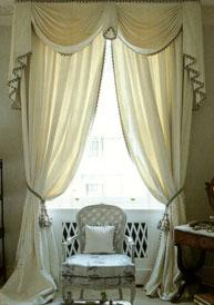 шторы из муара, ткань муар