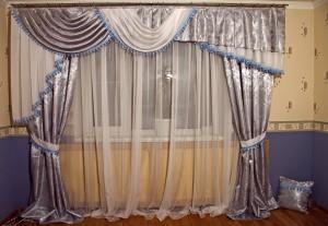 шторы из сатина, ткань сатин