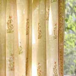 шторы из шёлка-сырца (китайский шёлк)