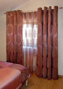 шторы из тафты, ткань тафта