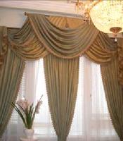 шторы из чинца, ткань чинц