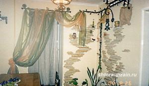шторы в кухне