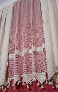шторы из льна, ткань лён