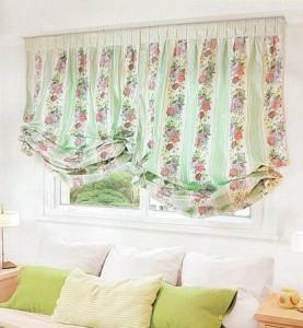 шторы из ситца, ткань ситец
