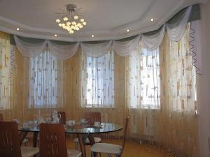 шторы из тюля, ткань тюль
