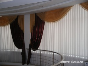 шторы в гостиницах и ресторанах