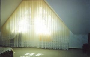 шторы из кристалона, ткань кристалон