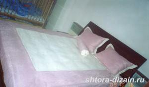 покрывала и подушки