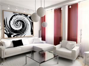 шторы в стиле модерн (ар-нуво)