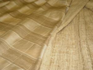 ткань рогожка, шторы из рогожки