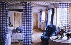 ткань миткаль. шторы из миткаля