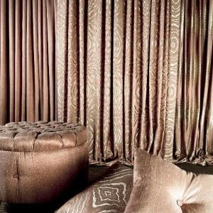 ткань ламе, шторы из ламе