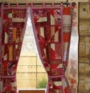 ткань поплин,  шторы из поплина