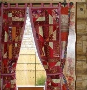 Выкройка японские шторы