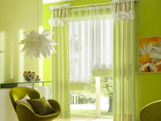 Как выбрать ткань для шторы на кухню?  Выбор материала, из которого будут изготовлены...