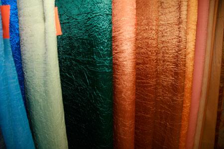 фото шторы из жатки
