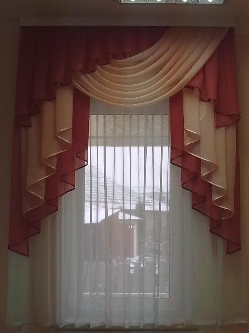 Шторы из шифона шторы уют в доме