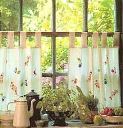 ткань майя, шторы из майи